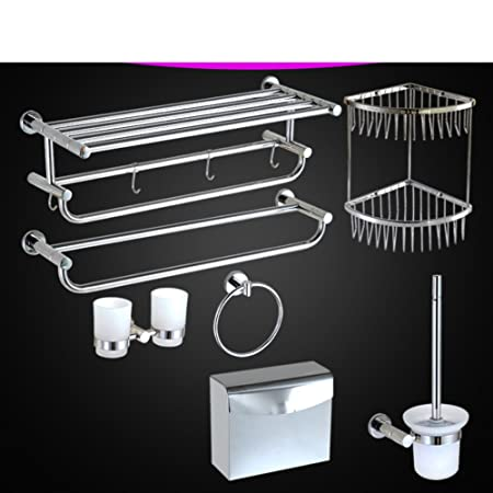 Asciugamano/ asciugamano rack pieghevole/In acciaio inox bagno rack/Accessori bagno-B