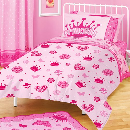 "American Kids Princess 63"" x 90"" Plush Blanket - 1"
