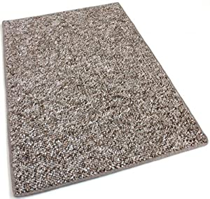 2.5'x13' RUNNER - Fudge Ripple - Indoor/Outdoor Area Rug Carpet, Runners & Stair Treads with a Premium Nylon Fabric FINISHED EDGES .