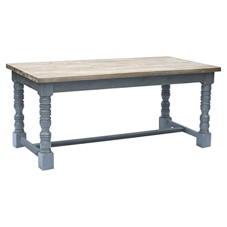 Bentley Home Reclaimed Dining Table Solid Wood Furniture Large Natural Finish