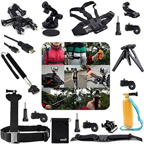 EEEKit 20-in-1 Professional Accessories Kit for Sony Action Cameras