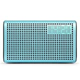 GGMM AUX & Bluetooth & Wi-Fi スピーカー 【ワイヤレススマートスピーカー / デュアルドライバー / クラウド音楽 / マルチルームサラウンド プレイ / 目覚まし時計機能 / USB給電】 Smart Speaker E3 (ブルー)