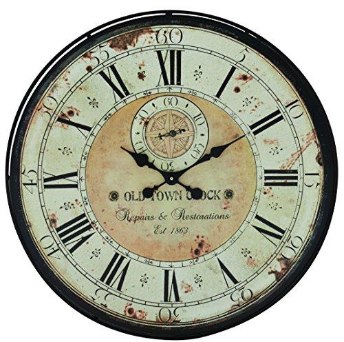 Benzara Romanian Styled Antique Wall Clock