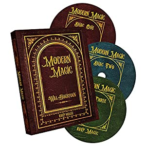 MMS Modern Magic by Will Houstoun and RSVP Magic DVD (Set of 3)