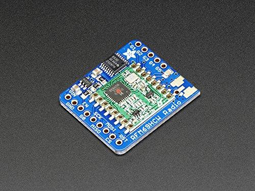 Adafruit (PID 3071) RFM69HCW Transceiver Radio Breakout - 433 MHz