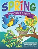 Spring Coloring Pages: Jumbo Coloring Book For Kids - Seasons Of The Year