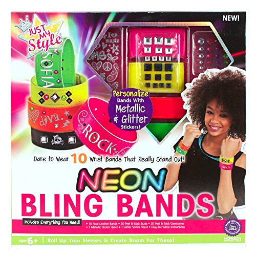 Just My Style Neon Bling Bands - 1