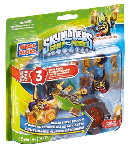 Mega Bloks Skylanders Legendary Trigger Happy Battle Portal - 1