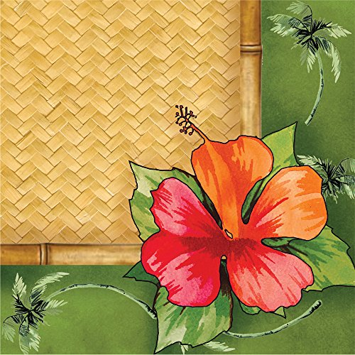 Creative Converting 16 Count 3-Ply Cocktail Napkins, Bamboo Weave