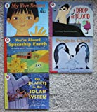 img - for Let's-Read-and-Find-Out About Science (Stage 1-2): Set of 5 Books (My Five Senses ~ A Drop of Blood ~ The Planets in Our Solar System ~ You're Aboard Spaceship Earth ~ Penguin Chick) book / textbook / text book