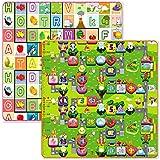 Zeagoo 1.8x2M Thicken Baby Crawling Mat Baby Crawling Pad/ Game Mat Puzzle Pad