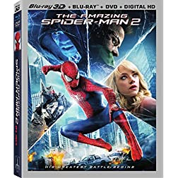 The Amazing Spider-Man 2 [3D/Blu-Ray/DVD/UltraViolet Combo Pack]