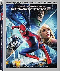 The Amazing Spider-Man 2 (3D/Blu-Ray/DVD/UltraViolet Combo Pack)
