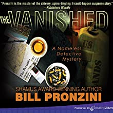 The Vanished: The Nameless Detective, Book 2 Audiobook by Bill Pronzini Narrated by Doug Hamilton