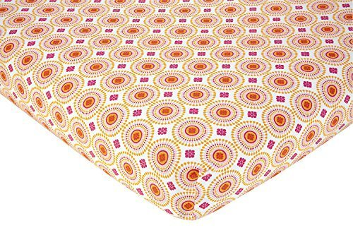 happy-chic-baby-jonathan-adler-party-elephant-crib-sheet-pink-orange-white-by-crown-crafts-inc