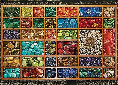 Cobble Hill Bead Tray Jigsaw Puzzle, 1000-Piece - 1