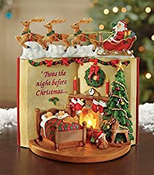 Lighted Night Before Christmas Tabletop Figurine by Collections Etc