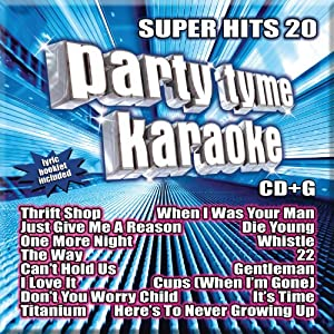 Party Tyme Karaoke: Super Hits 20 by Sybersound Records