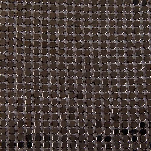 150 Row 3mm Exquisite Trim Mesh Metal 105x43cm I0089-3
