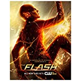 Poster4U New 2014 Superheroes The Flash Barry Allen TV Series Poster (Print, 12 inch x 18 inch, HD065)
