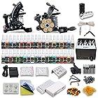DragonHawk Complete Tattoo Kit 2 Machines Gun 40 color Inks Power supply needles set
