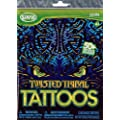Twisted Tribal - Girls / Boys Tattoos - 50+ assorted temporary tattoos