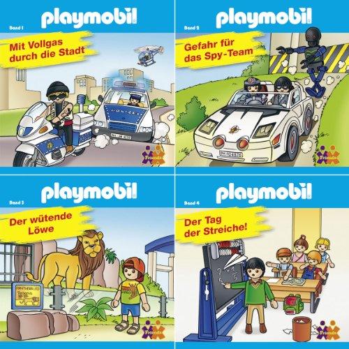 Mini-Bücher Playmobil 1-4 (4er-Set)
