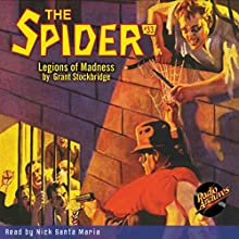 Spider #33, June 1936 Audiobook by Grant Stockbridge,  RadioArchives.com Narrated by Nick Santa Maria