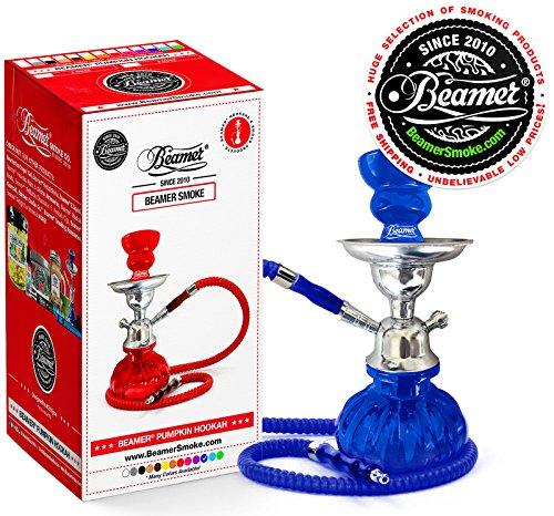 U-Pick-Color-Blue-Beamer-Pumpkin-Hookah-Set-Limited-Edition-Beamer-Sticker