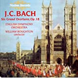 J.C. Bach: Six Grand Overtures, Op. 18by Johann Christian Bach