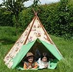 Wigwam Teepee Play Tent -Canvas - Cow...