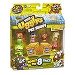 Ugglys Pet Shop Figurines (Pack of 8,...