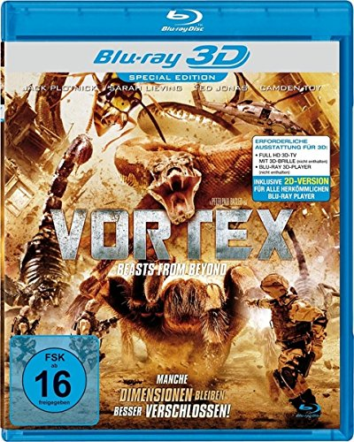 Vortex - Beasts from Beyond [3D Blu-ray]