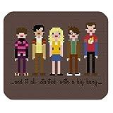 The Big Bang Theory Poster Print Cartoon Style Mouse Pad
