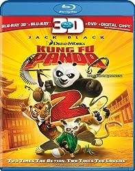 Kung Fu Panda 2 3D (3D BD/Blu-Ray/DVD/Digital Copy Combo)