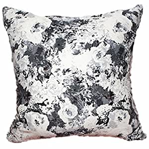 Amazon.com - Black Hot Sale Retro Small Floral Throw Pillow Cases Home Decorative Cushion Cover