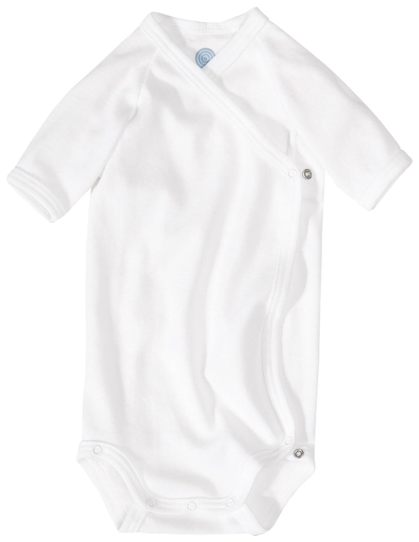 Sanetta Winding Body White Organic Cotton Short Sleeve