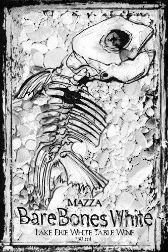 Nv Mazza Bare Bones White 750 Ml