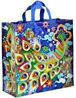 Blue Q Peacock Shopper