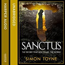 Sanctus Audiobook by Simon Toyne Narrated by Jonathan Keeble