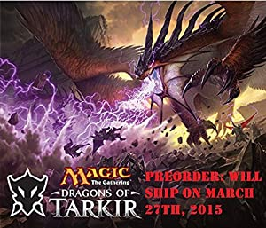 MTG Magic the Gathering Dragons of Tarkir Set of All 5 Intro Packs - Pre-Order Ships March 27th