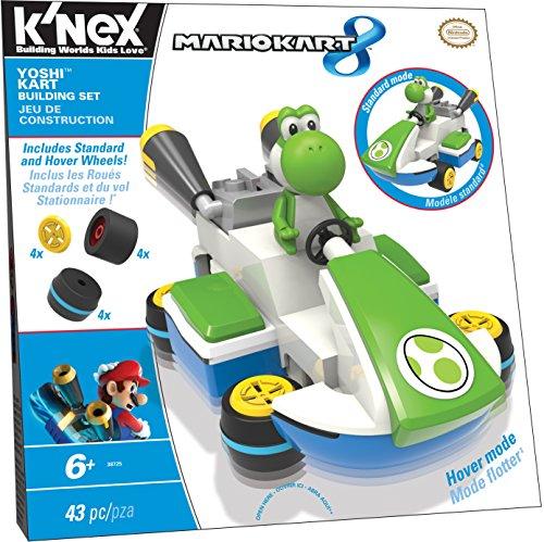 K'nex Mario Kart 8 - Yoshi Kart Building Set - 1