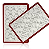 Aprince Silicone Baking Mat Set (2) / Non-Stick Cookie Sheet (Silicone Mat 5)