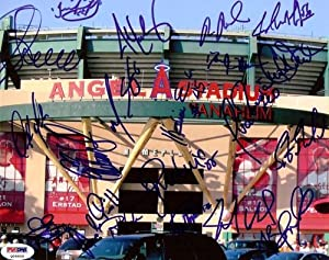 2005 Anaheim Angels Autographed Hand Signed 8x10 Photo Jarrod Washburn, John Lackey,... by Hall+of+Fame+Memorabilia