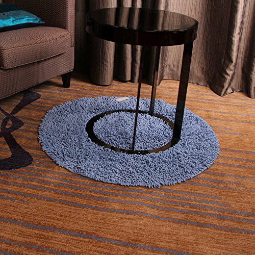 new-day-tapis-rond-chenille-pur-coton-tapis-style-pastoral-coton-absorbant-chambre-chevet-alese-days
