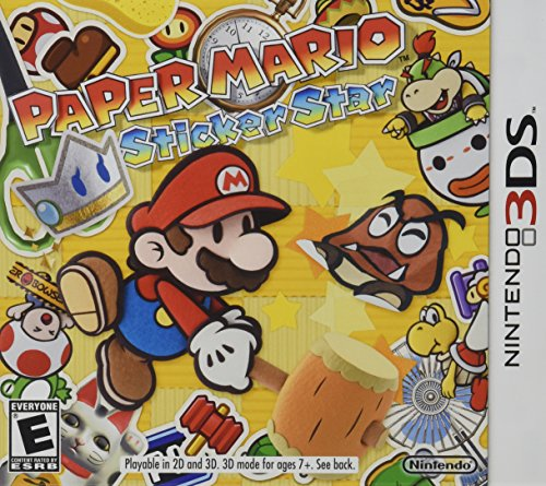 Paper Mario: Sticker Star (Super Mario Galaxy 3 Wii compare prices)