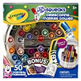 Crayola 58-8750 Crayola Telescoping Pip-Squeaks Marker Tower, Assorted Colors, 50/Set