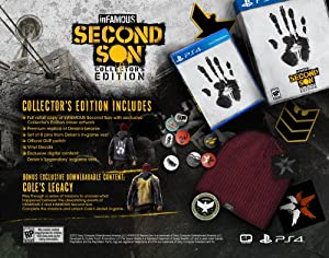 inFAMOUS: Second Son Collector's Edition - PlayStation 4