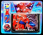 SPIDERMAN WATCH AND WALLET SET FOR BOYS