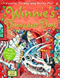 Valerie Thomas Winnie's Dinosaur Day (paperback and CD) (Winnie the Witch)